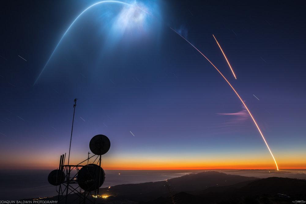 Falcon 9 Nebula