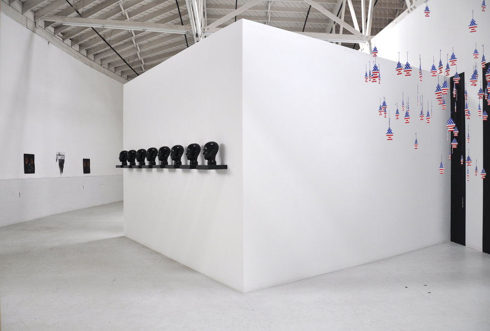 Installation View   'A' and 'Op' Position to Nation