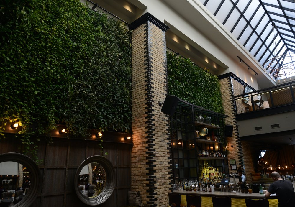NICO OSTERIA LIVING WALL |  CHICAGO IL