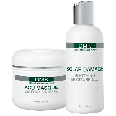 ALPHA RANGE   A range of basic, easy-to use, non-paramedical products for home and salon use – a good introduction to DMK products