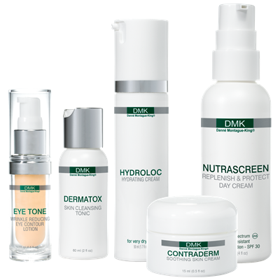 SPECIALITIES   A range of unique DMK products for home and salon use designed to target very specific skin problems