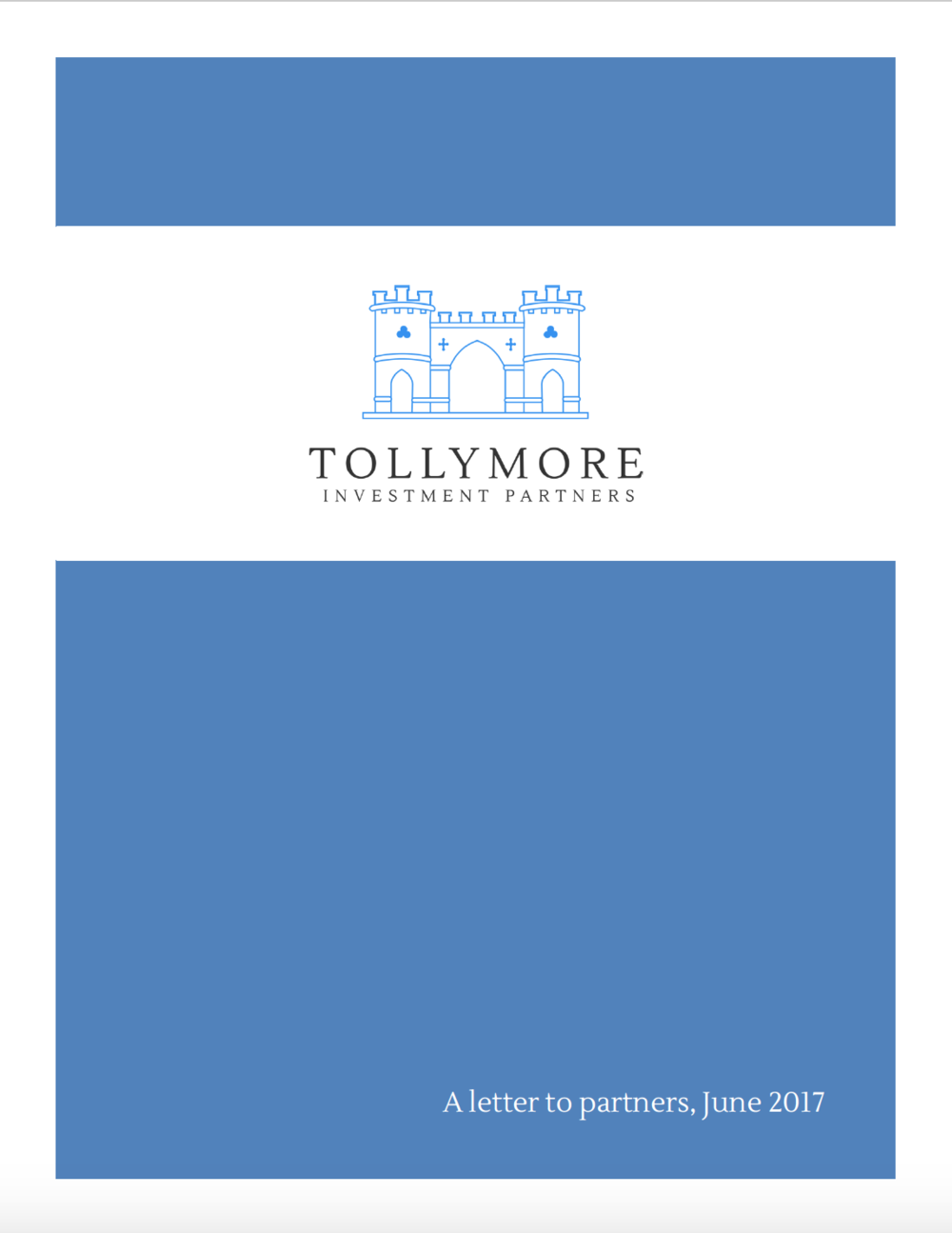 Tollymore letter June 2017
