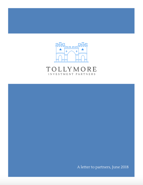 Tollymore letter June 2018