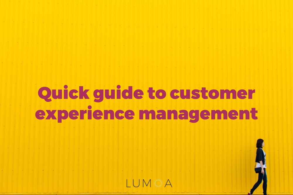 Customer Experience Management guide