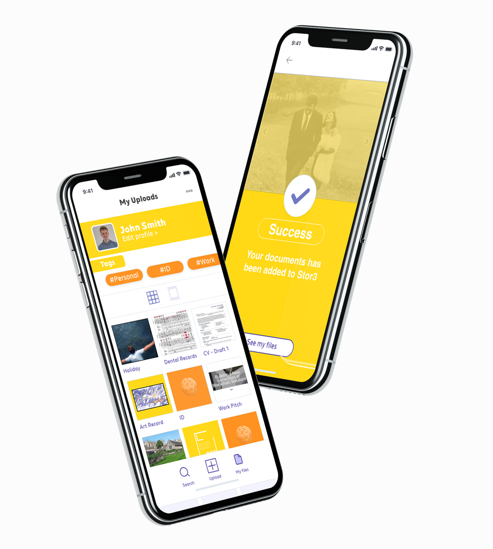 Stor3 - Stor3 is a private blockchain security app targeted at those who are conscious of their data and security.