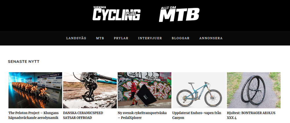 20190118 Svenska Cycling Plus writes about the BTC (Swedish)