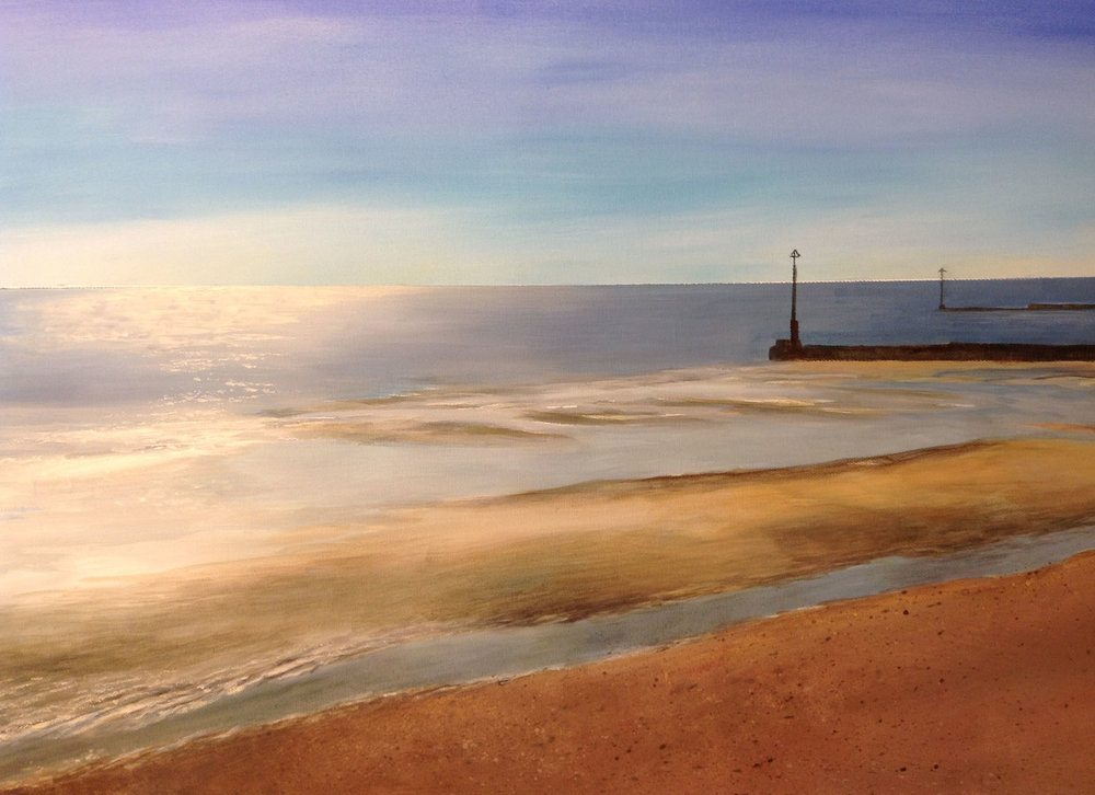 Tides Out , Acrylic, 76 x 52 cm