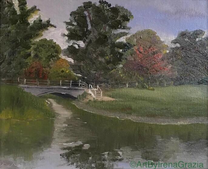 Boathouse Bridge, Dedham