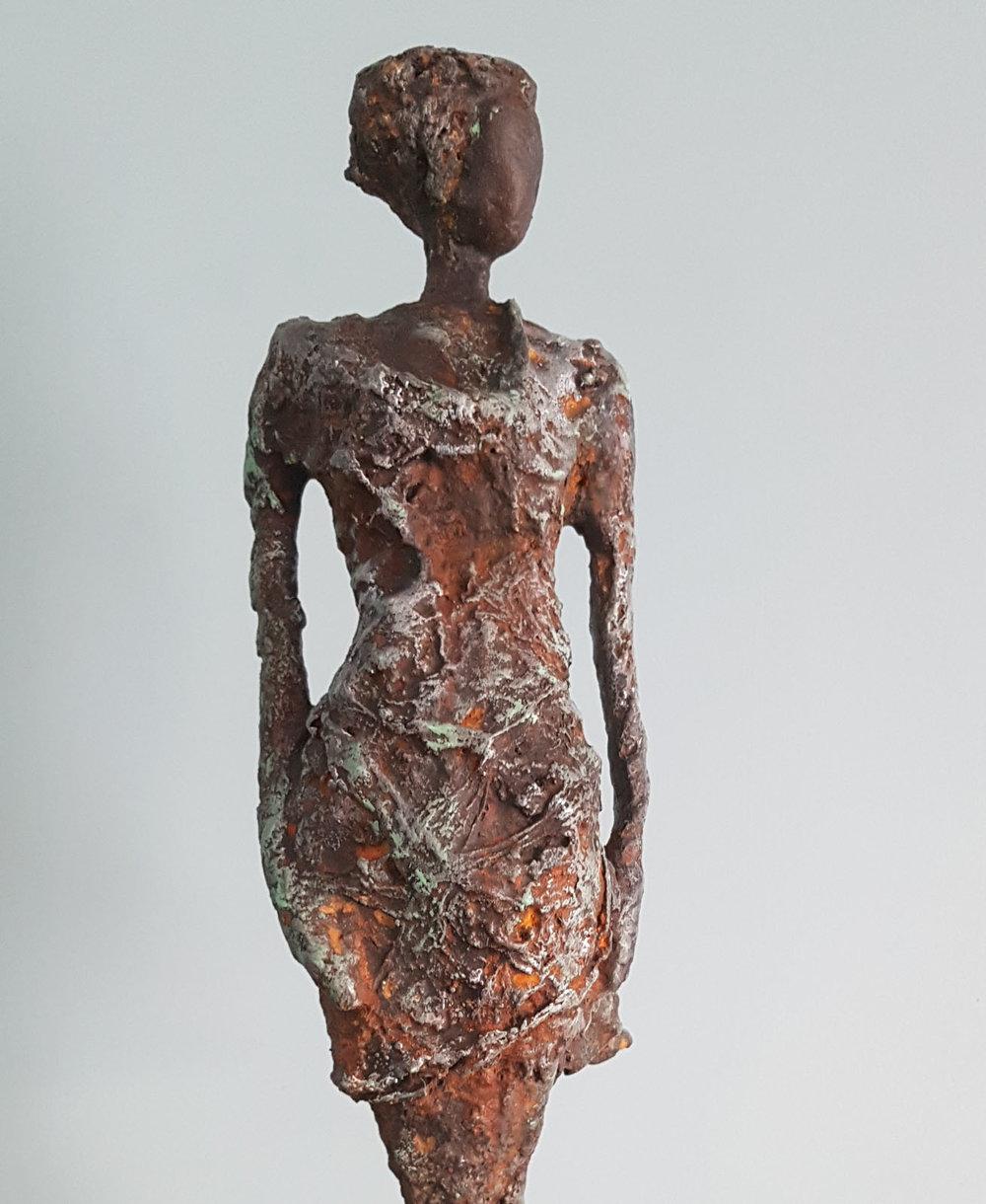 Imani , Cold cast Iron, 22 x 15 x 10 cm