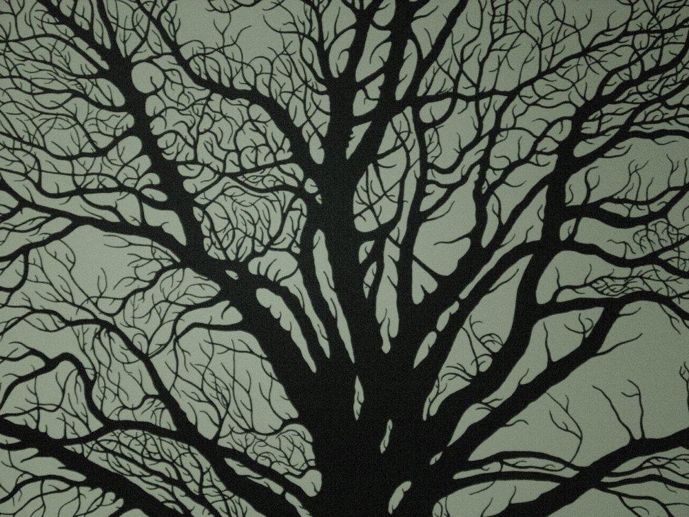 Arborgan , Acrylic, 90 x 70 cm