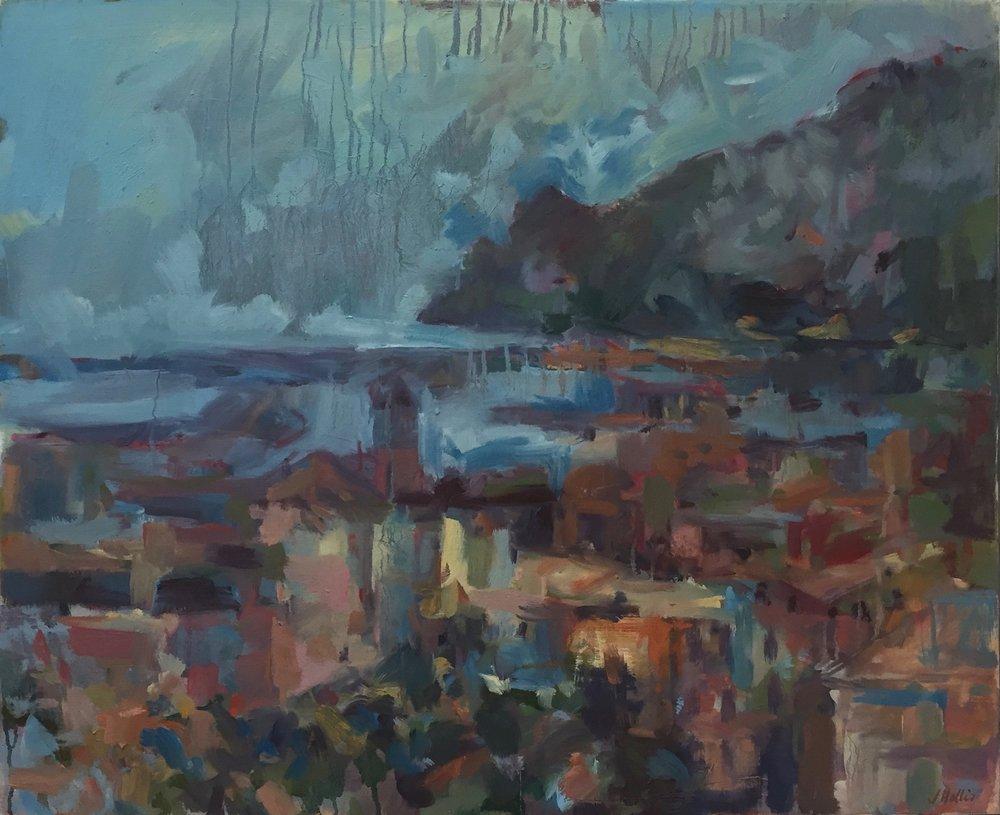 Almeria,  Oil on canvas, 70 x 80 cm