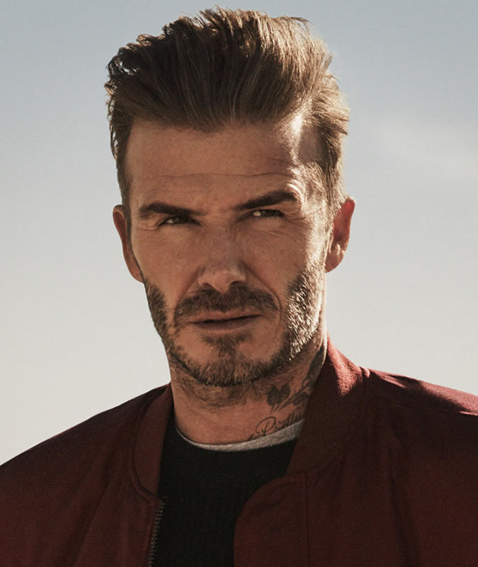 David Beckham Style Icon