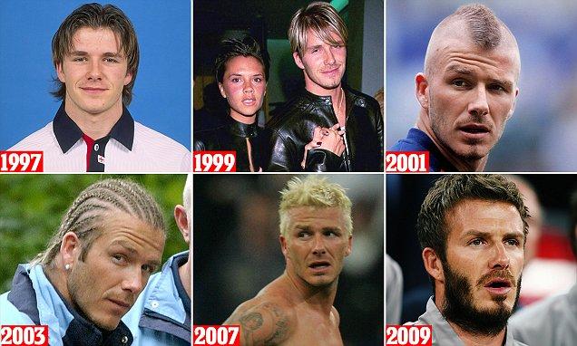 David Beckham Dreadlocks