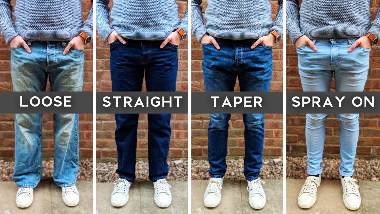 Men S Jeans Style Fit Guide How To Choose Jeans Ben Arthur