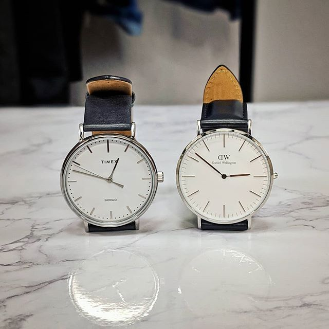 Which would you choose to wear? Comment down below 💬  #timex #danielwellington #timexweekender #dw #watch #watches #watchesofinstagram #timexwatch #watchstyle #watchenthusiast #watchfam #style #styleinspo #mensfashion #fashiongram #fashionwatches #fashionwatch #horology #watchaddict #dapper #dappermen #instastyle #instagood #model #youtube #youtuber #mensstyle #instawatch #styleinspo