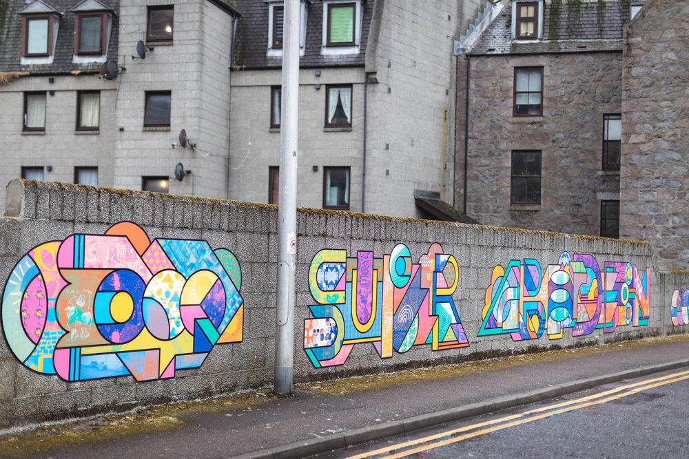 Supermundane (AKA Rob Lowe),  Super Aberdeen //  Look Again 2018