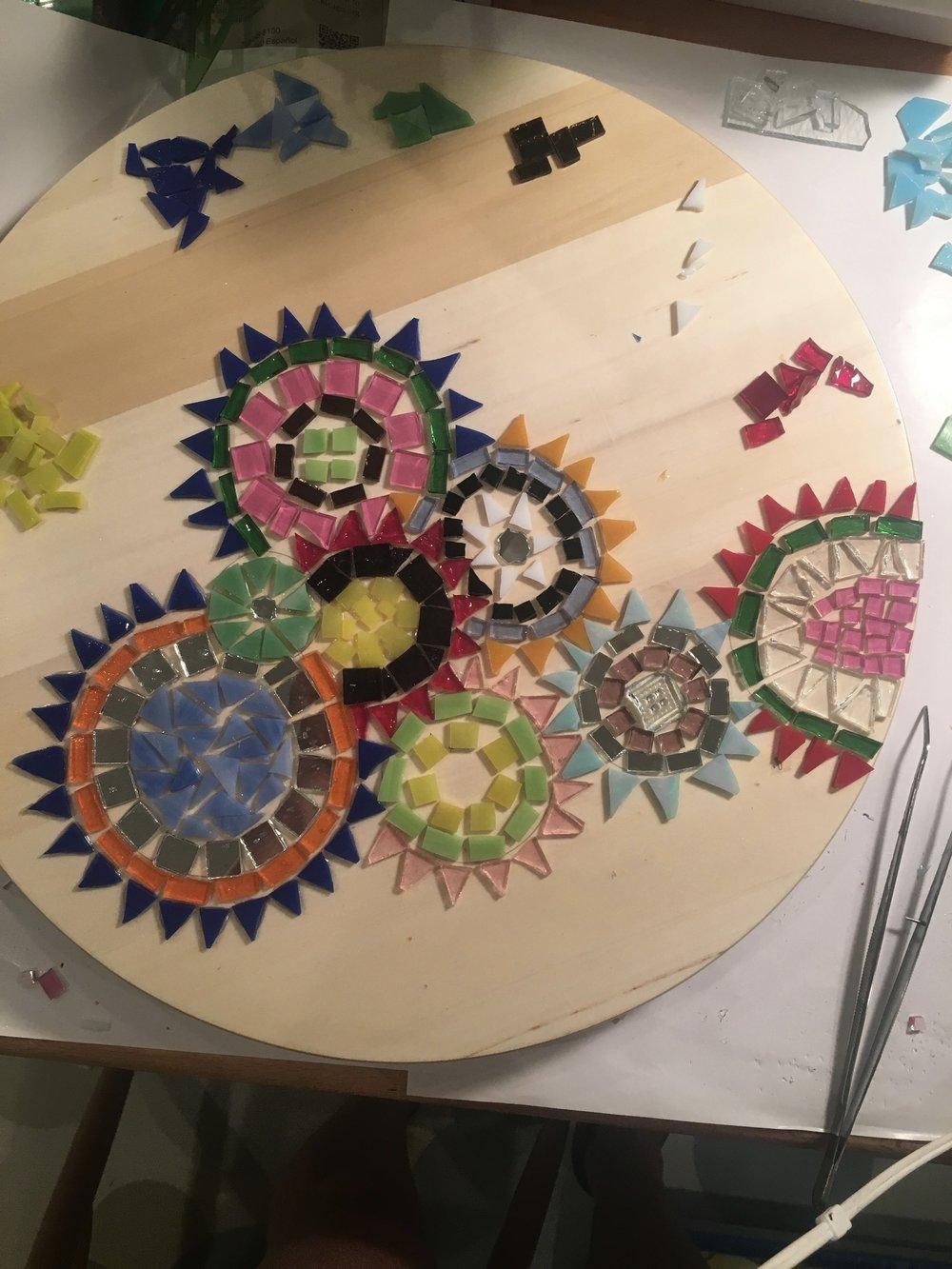 lazy circles in progress