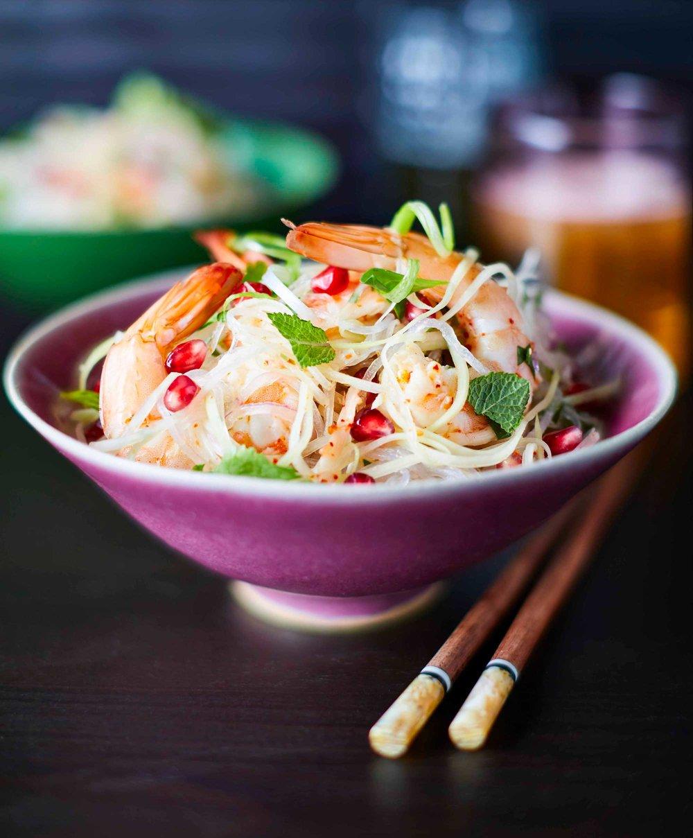 New Year Goji Berry Detox Noodle Soop