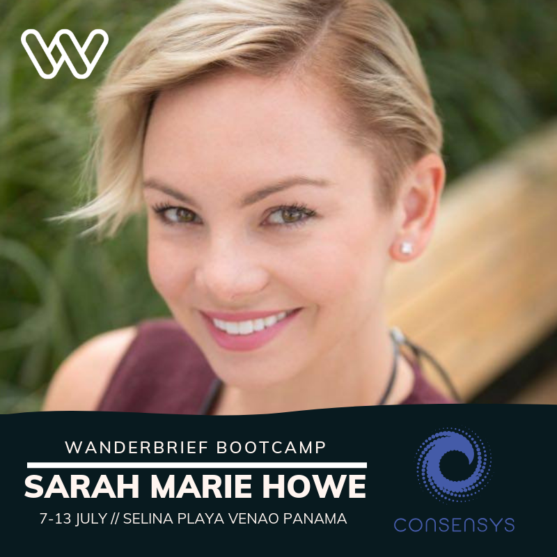 Wanderbrief Bootcamp Consensys Sarah Marie Howe