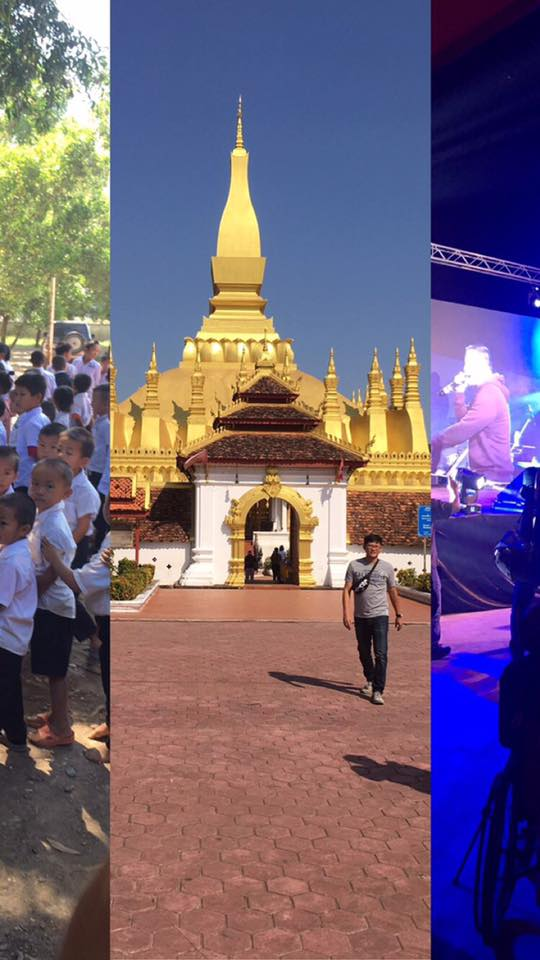 At the International Gospel Outreach in Laos.