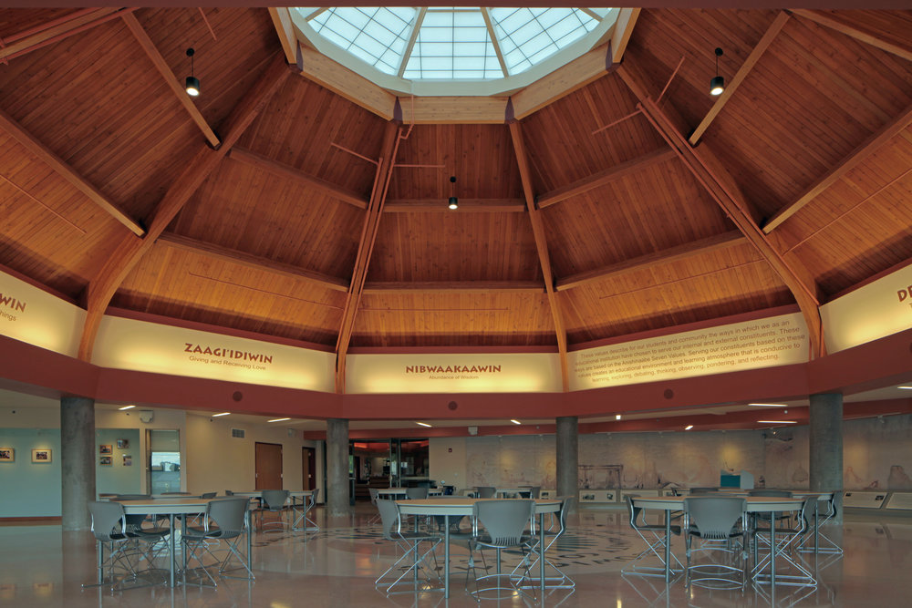 White Earth Tribal and Community College - Phase II (Hunter-Grobe Architects)