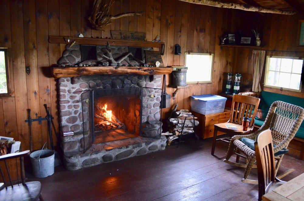 Inside Dassler Cabin