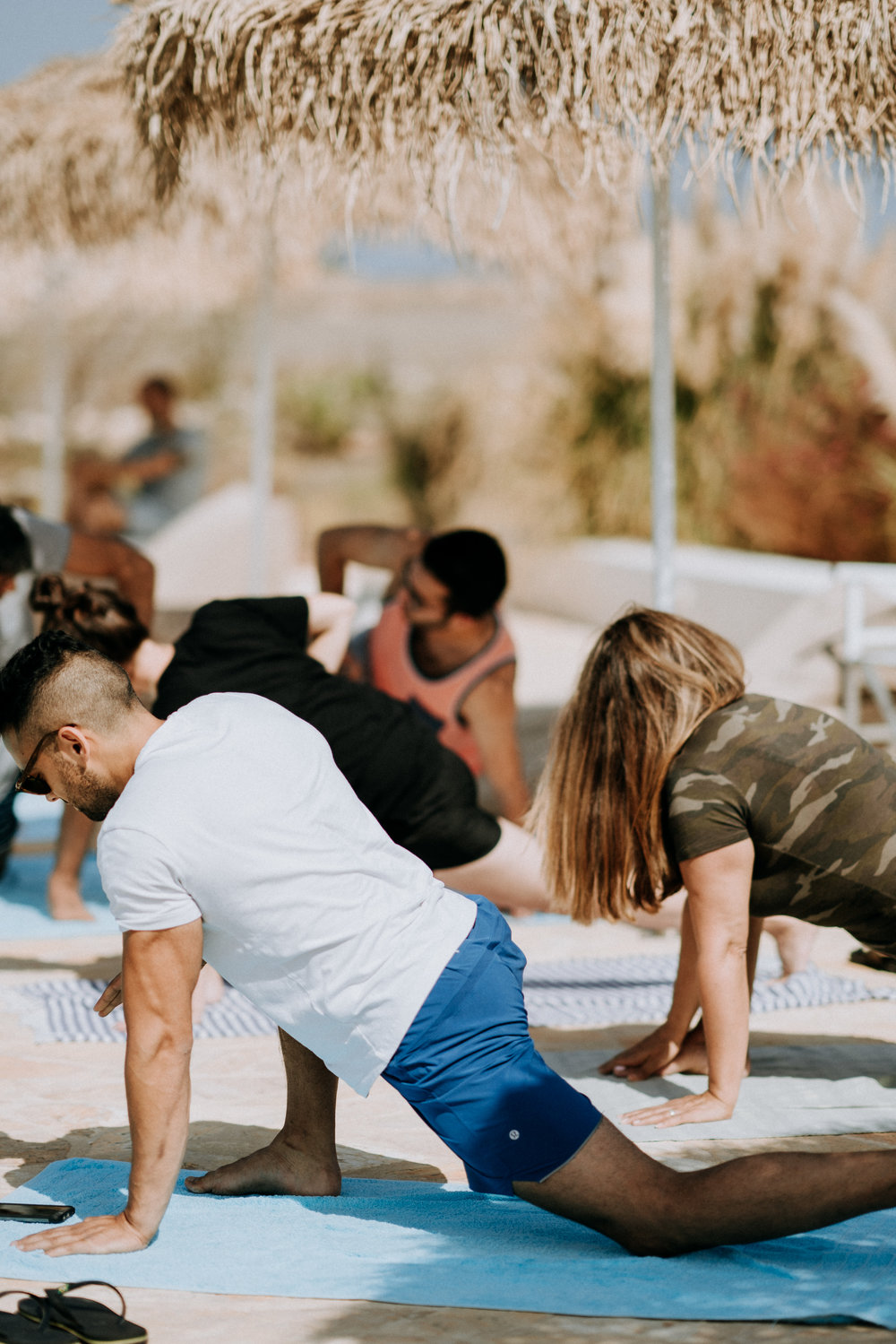 Say goodbye to your tight shoulders and back and hello to release. - Yoga Workshop by Illuminate Yoga for tight shoulders, stiff neck and upper back.
