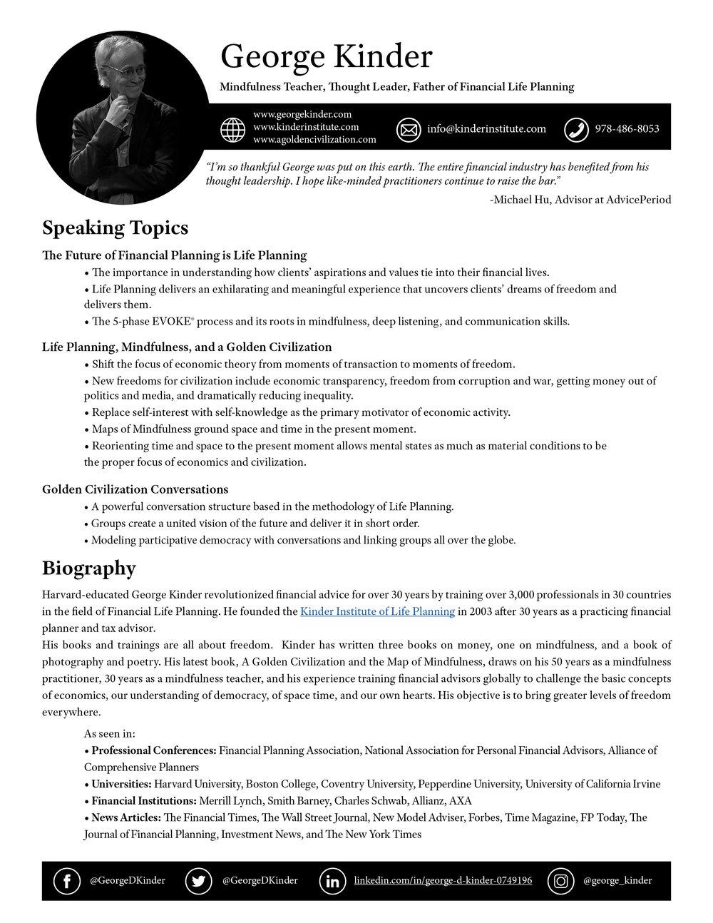 George Kinder — Speaker One Sheet.jpg