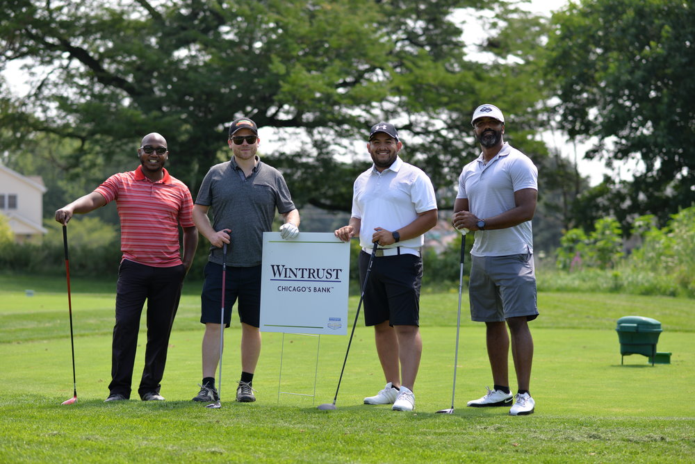 A foursome at our Golf Outing 2018