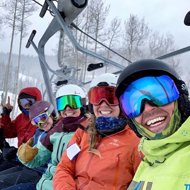Howdy! From a snowy Durango, Colorado! #verdeans #wishyouwerehere #durangocolorado #durango #skicolorado #snowboardcolorado #purgatoryskiresort