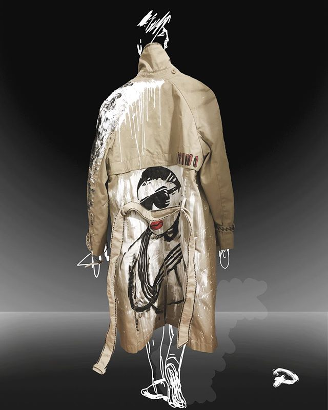 Custom Jacket #SpecialOrder for @ms.bruno . @nempire.design www.nempiredesign.com
