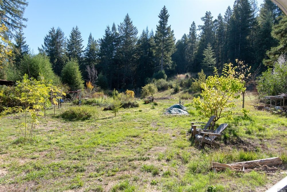 sunny meadow near the family home for sale, Philo, CA