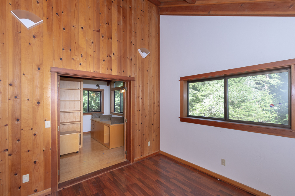 Beautiful design and finishes in interior of home for sale in Anderson Valley.