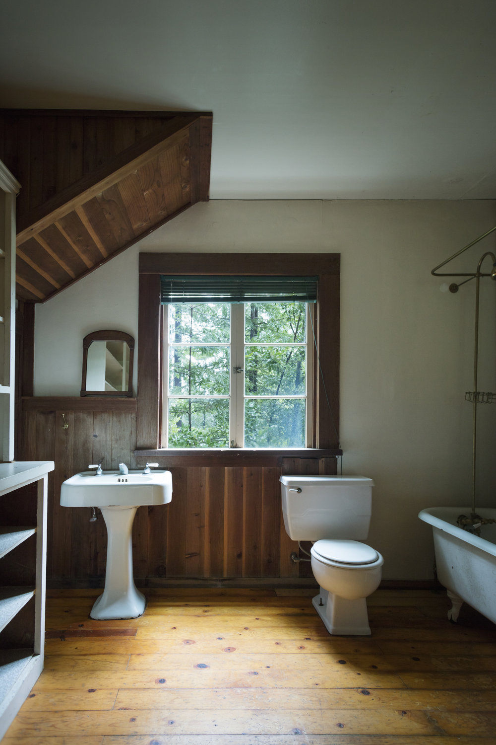 Downstairs bath in a home for sale in Philo, CA