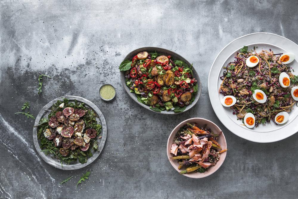 4 Dishes Salmon Carrot, Plantain, Fig, Cauliflower.jpg