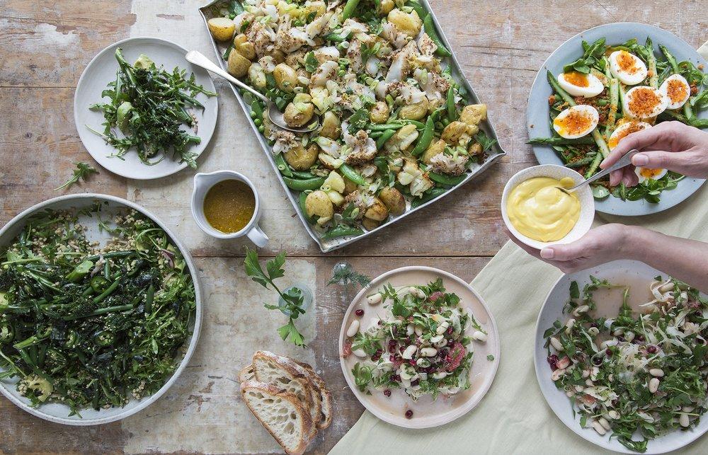 4 Dishes Brocolli, Dukkah Cod, Fennel Whitebean, Egg Asparagus_02.jpg