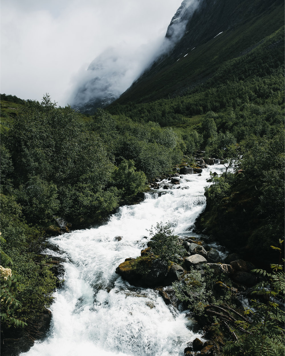Waterfall - Nature - Norway by Mads Nordsveen