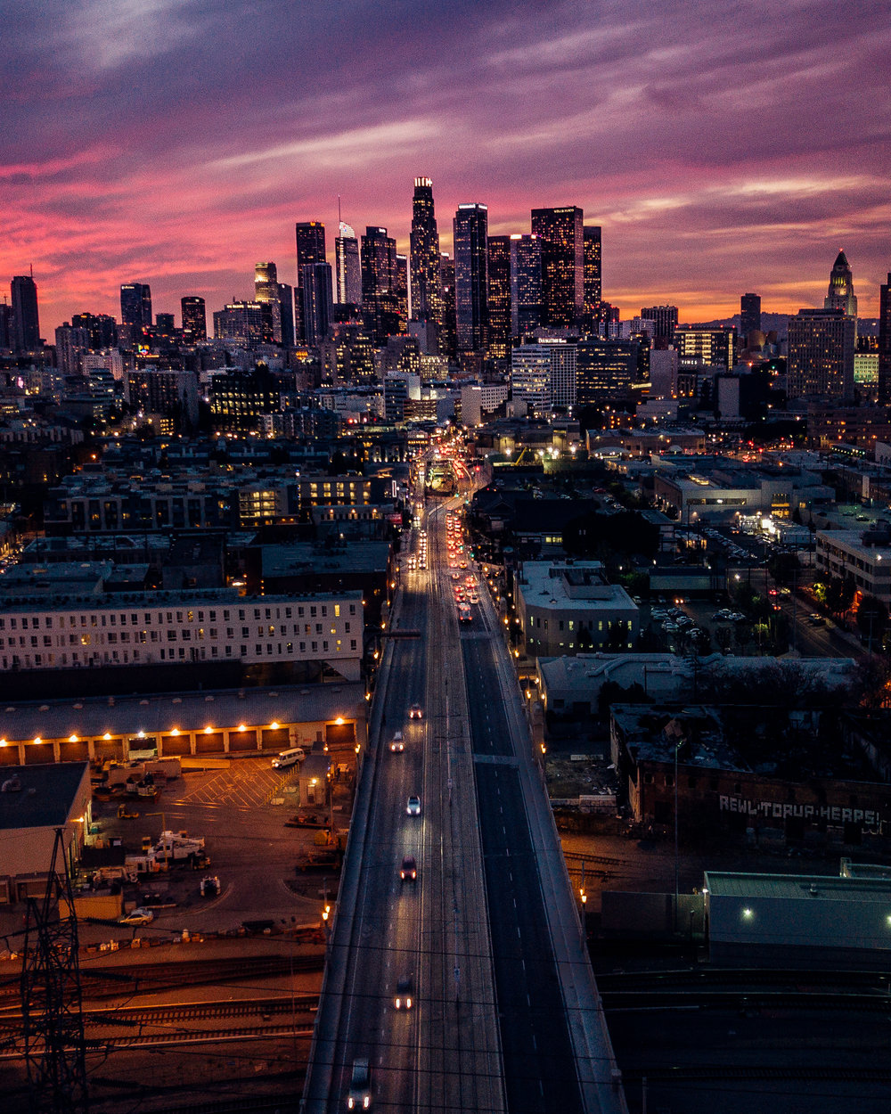 Los angeles city - By Mads Nordsveen