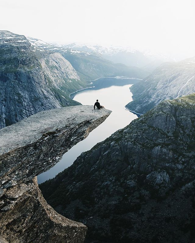 The majestic Trolltunga, Norway🇳🇴 What's on your bucket list for 2019?🏔