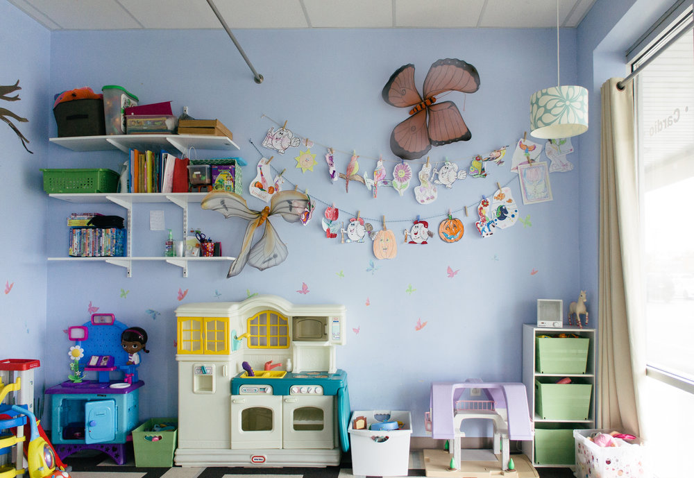 Childcare - For up to 90 minutes at a time:1 child monthly unlimited - $302+ children monthly unlimited - $50Please read our childcare hours and policy before booking below.