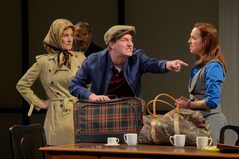 """As German Husband in """"Oslo"""" at Marin Theatre Company — Photo by Kevin Berne"""