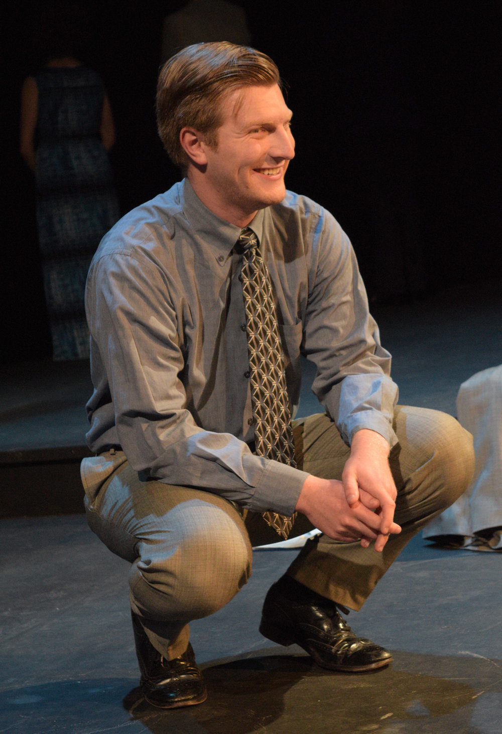 """As James in """"Book of Days"""" with Douglas Morrisson Theatre — Photo by Claire Rice"""