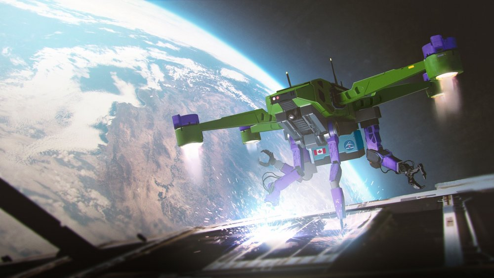 Inventions in Space Challenge - Winning design in Concept Art form