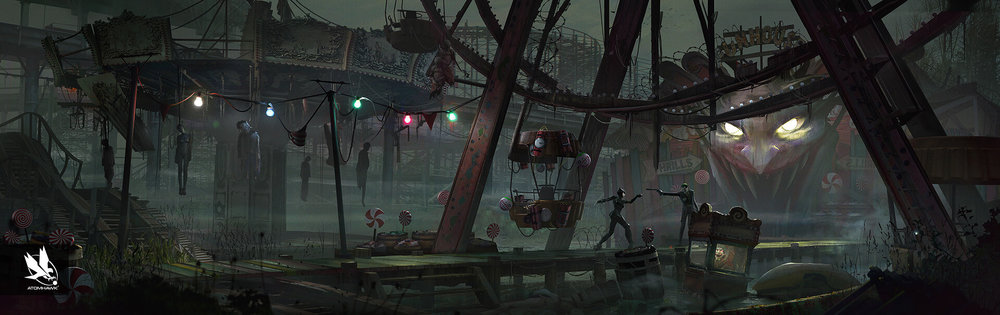 Atomhawk_Warner-Bros-NetherRealm_Injustice-2_Concept-Art_Environment-Design_Jokers-Hideout-Amusement-Park.jpg