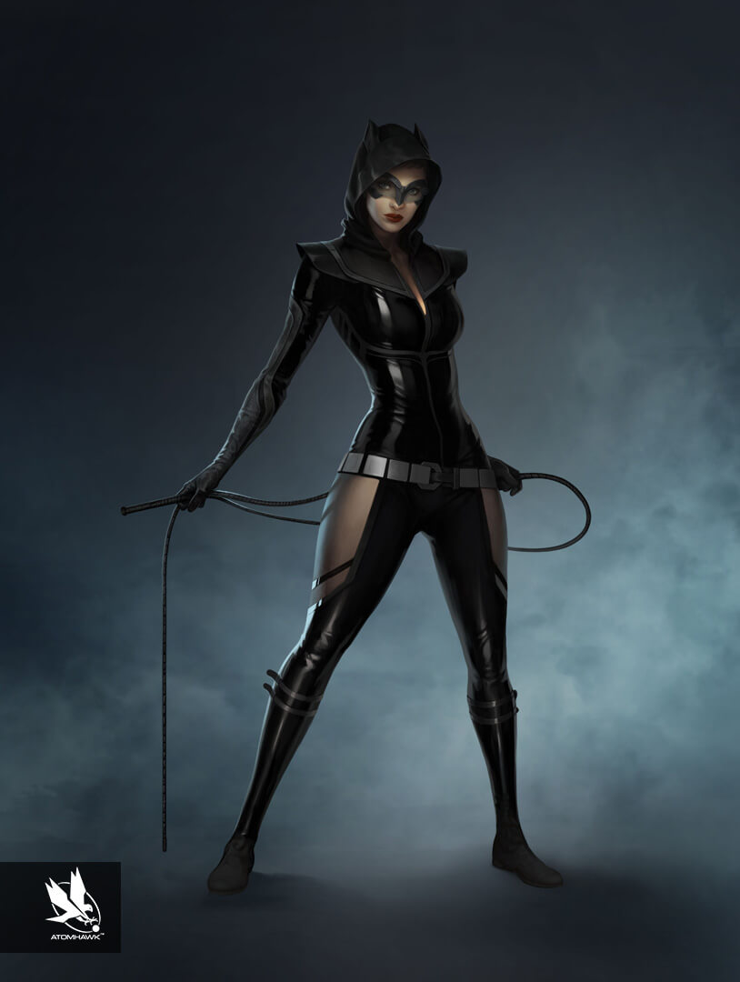 Here is some Character Art we did for Warner Brothers NetherRealm Studio on Injustice2 - Catwoman
