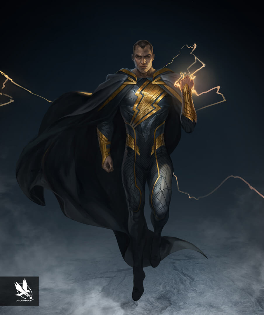 Character Art - Injustice2 - Black Adam