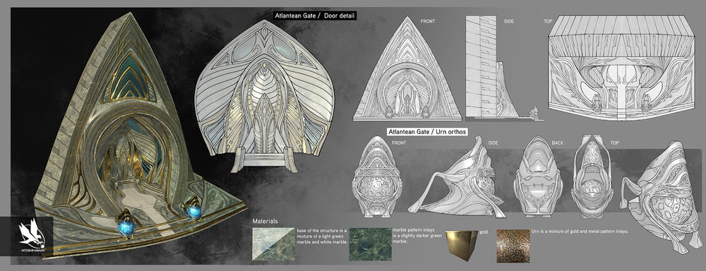 Here is some Breakout Concept Art we did for Warner Brothers NetherRealm Studio on Injustice2 - Atlantean Gate