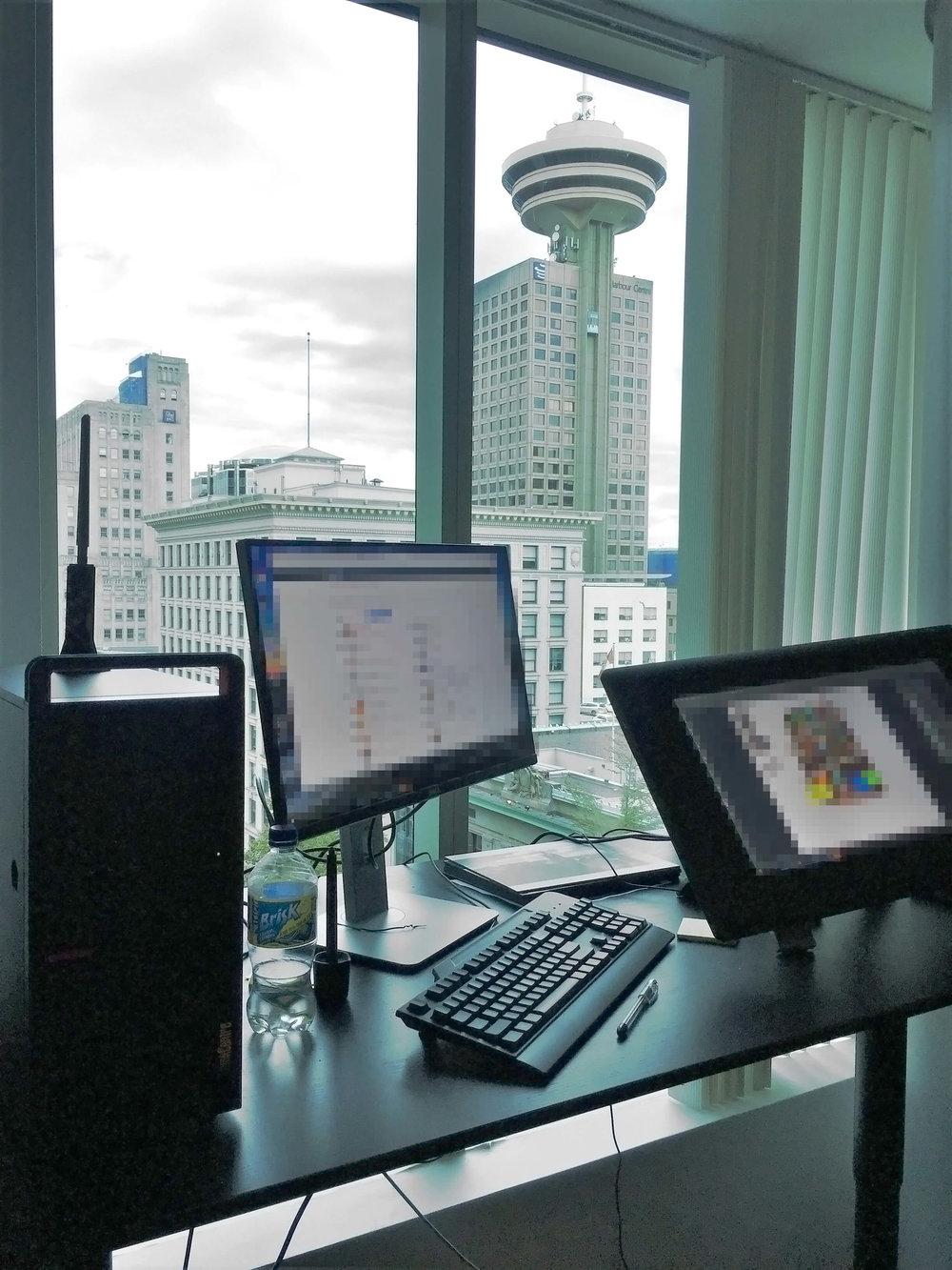 Atomhawk Vancouver Studio View
