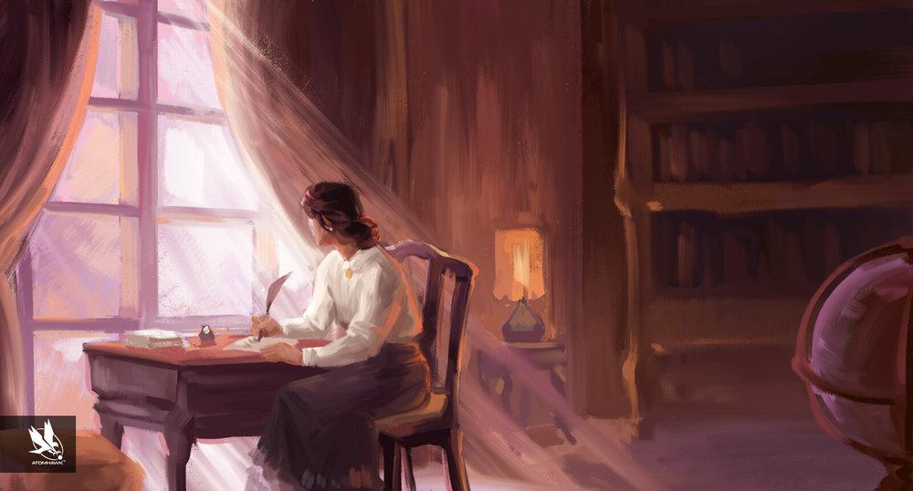 Aardman Studios - 11-11-Memories Retold - Concept Art - Julia Writes