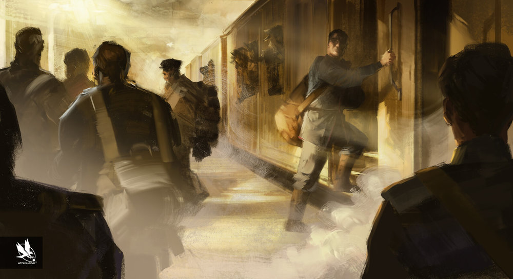 11-11-Memories Retold Project - Concept Art - Kurt Goes to War